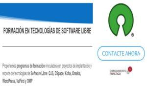 Formación en Software Libre